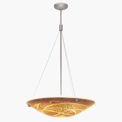 Access Lighting 23203 Four Light Pendant with Safari Italian Art Glass
