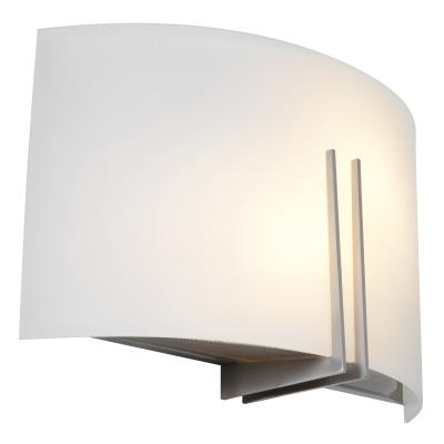 Access Lighting 20447-BS/WHT Prong - Two Light Vanity/Wall Sconce