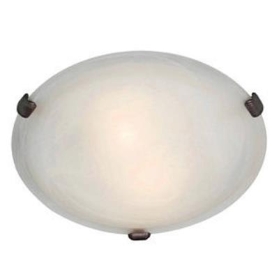 Access Lighting 23019-RU/WH Mona - Two Light Flush Mount