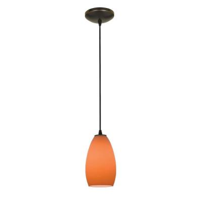 Access Lighting 28012-1C-ORB/ORG Sydney - One Light Pendant (Cord Hung)