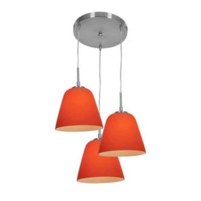 Access Lighting 50173 Aire - Three Light Silk Pendant