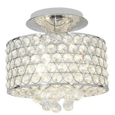 Access Lighting 51006-CH/CCL Kristal - Four Light Semi-Flush Mount