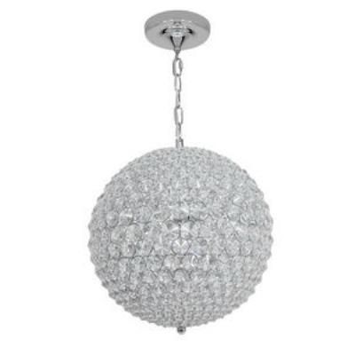 Access Lighting 51008-CH/CCL Kristal - Five Light Chain Hung Ball Pendant