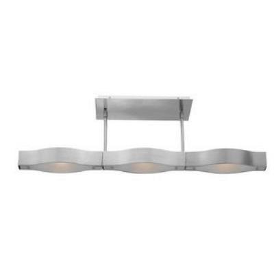 Access Lighting 62315 Titanium - Three Light Semi-Flush Mount