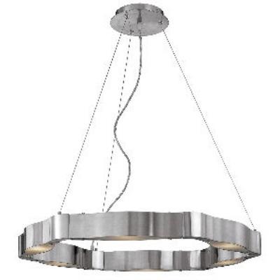 Access Lighting 62317 Titanium - Six Light Cable Chandelier