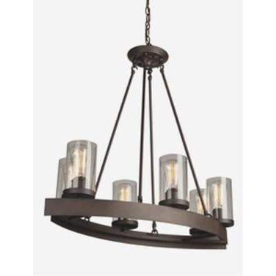 Artcraft Lighting AC10005 Menlo Park - Six Light Chandelier