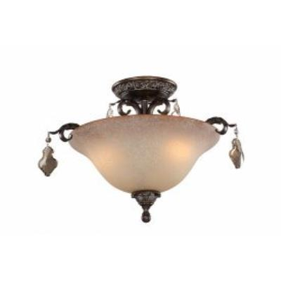 Artcraft Lighting AC1462 Vienna - Three Light Semi-Flush Mount