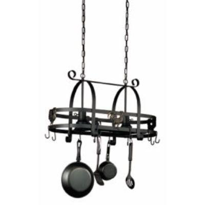 Artcraft Lighting AC1798 Pot Racks - Two Light Island