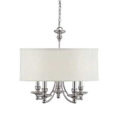 Capital Lighting 3915PN-455 Midtown - Five Light Chandelier