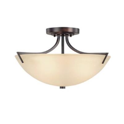 Capital Lighting 4037BB Stanton - Three Light Semi-Flush Mount