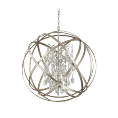 Capital Lighting 4236WG-CR Axis - Six Light Pendant