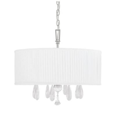 Capital Lighting 4488PN-574-CR Alisa - Four Light Chandelier