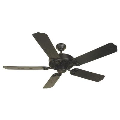 "Craftmade Lighting OPXL52FB Outdoor Patio - 52"" Ceiling Fan"