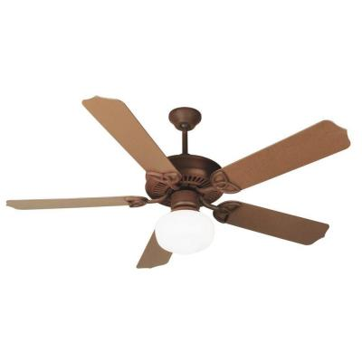"Craftmade Lighting OPXL52RI Outdoor Patio - 52"" Ceiling Fan"