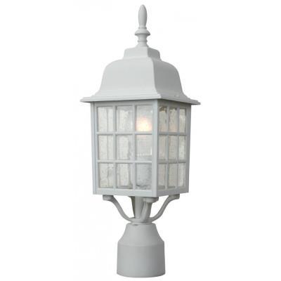 Craftmade Lighting Z275 Grid Cage - One Outdoor Medium Post Light
