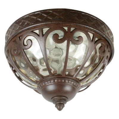 Craftmade Lighting Z3837 Olivier - Three Light Outdoor Flush Mount