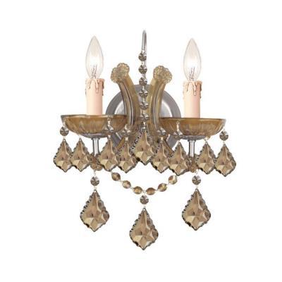 Crystorama Lighting 4472 Maria Theresa - Two Light Wall Sconce