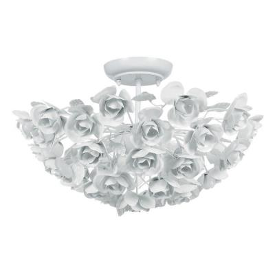 Crystorama Lighting 530 Cypress - Three Light Ceiling Mount