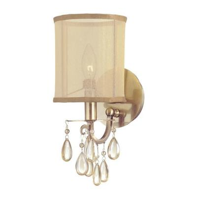 Crystorama Lighting 5621-AB Hampton - One Light Wall Sconce