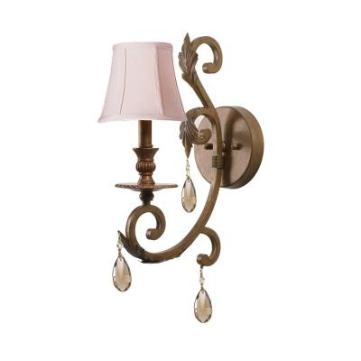 Crystorama Lighting 6901-FB-GTS Royal - One Light Wall Sconce