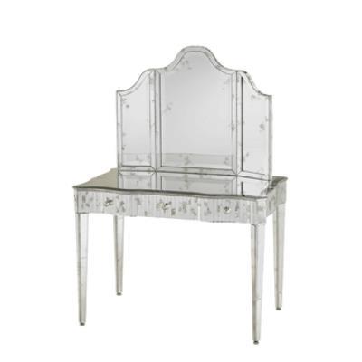 """Currey and Company 1300 Gilda - 36"""" Vanity Mirror"""