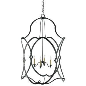 Charisma - Four Light Large Hanging Lantern