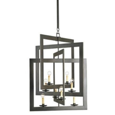 Currey and Company 9927 Middleton - Eight Light Chandelier