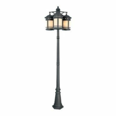 Designers Fountain 23813-AM-ORB Sedona - Nine Light Outdoor Post Lantern