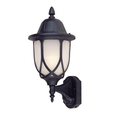 Designers Fountain 2868MD-BK Capella Motion Detector - One Light Outdoor Wall Lantern
