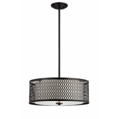 Designers Fountain 6201-ART Continental - Three Light Pendant