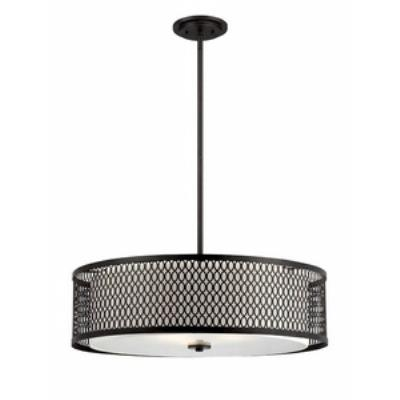 Designers Fountain 6202-ART Continental - Three Light Pendant