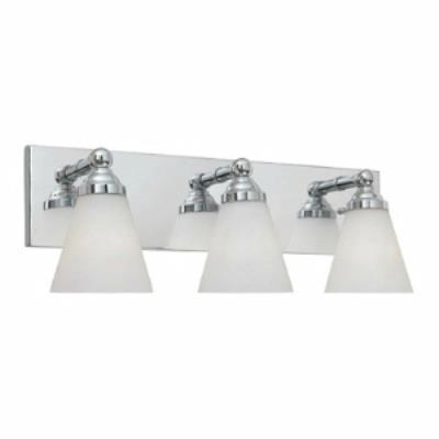 Designers Fountain 6493-CH Hudson - Three Light Bath Bar