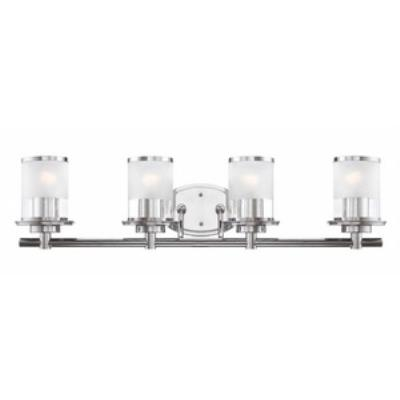 Designers Fountain 6694-CH Essence - Four Light Bath Bar