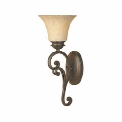 Designers Fountain 81801-FSN 1-Light Wall Sconce