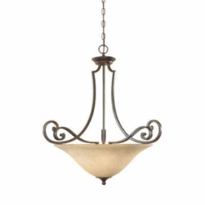 Designers Fountain 81831-FSN 3-Light Inverted Pendant