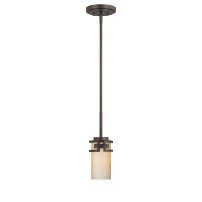 Designers Fountain 83830-FBZ Del Ray - One Light Mini-Pendant