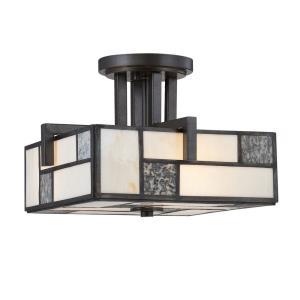 Bradley - Three Light Semi-Flush Mount