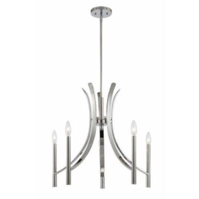 Designers Fountain 84585-CH Cordova - Five Light Chandelier