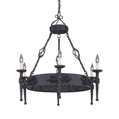 Designers Fountain 9186-NI 6-Light Island Pendant