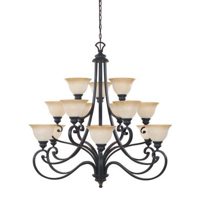 Designers Fountain 961815-NI 15-Light Chandelier