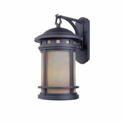 Designers Fountain ES2371-AM-ORB Sedona - One Light Outdoor Wall Lantern