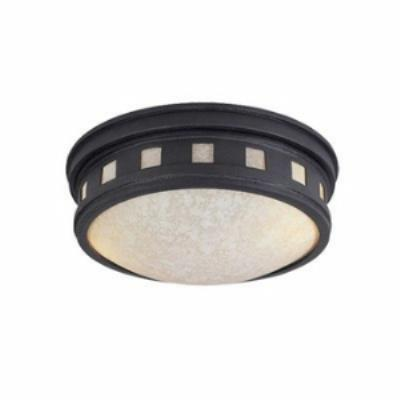 Designers Fountain ES2375-AM-ORB Sedona - One Light Outdoor Flush Mount