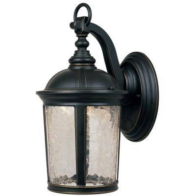 "Designers Fountain LED21331-ABP Winston - 9"" LED Wall Lantern"