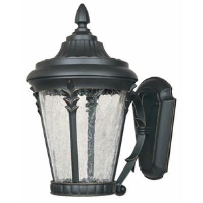 "Designers Fountain LED21631-ABP Hillcrest - 9"" Outdoor Wall Lantern"
