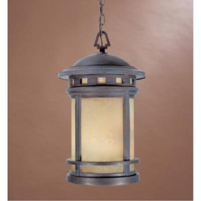 Designers Fountain 2394-AM-MP Sedona - Three Light Outdoor Wall Lantern