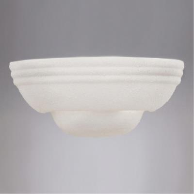 Designers Fountain 6030-WH 1 Light Wall Sconce With Paintable Ceramic