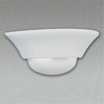 Designers Fountain 6031-WH 1 Light Wall Sconce With Paintable Ceramic