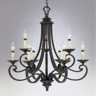 Designers Fountain 9039-NI Messina Chandeliers