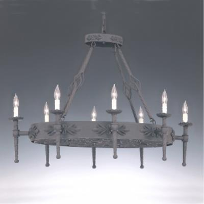 Designers Fountain 9188-NI Eight Light Island Pendant