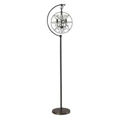 Dimond Lighting D2422 Restoration - Three Light Globe Floor Lamp